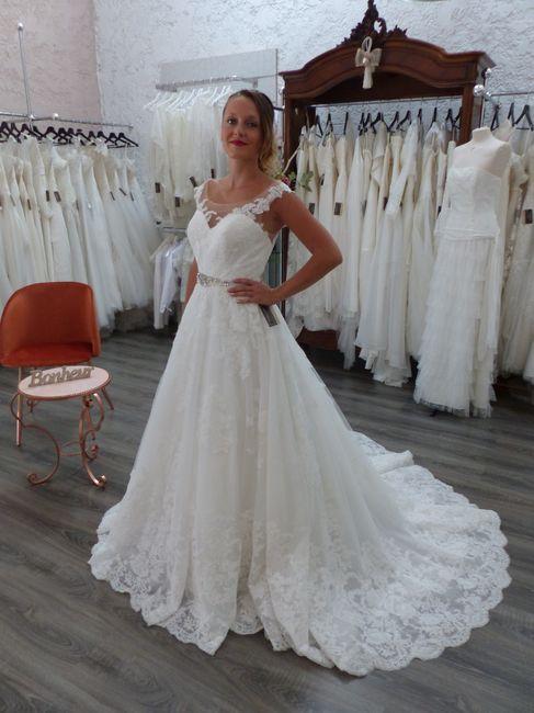 Essayages robe de mariée 7