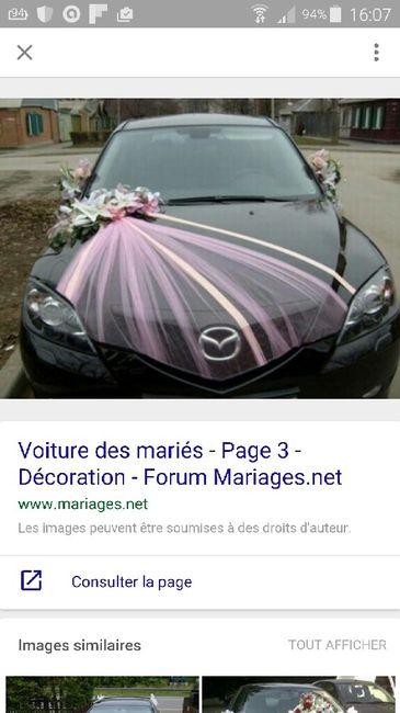 Prix d co voiture d coration forum - Prix decoration voiture mariage fleuriste ...