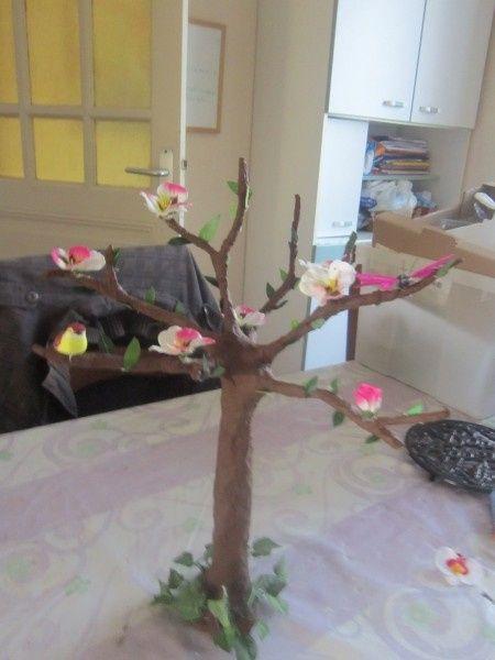 Centre de table fait maison photo for Centre de table maison