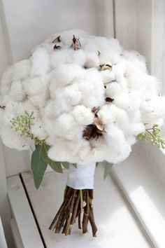 Inspiration bouquet coton - 1