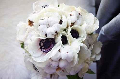 Inspiration bouquet coton - 2