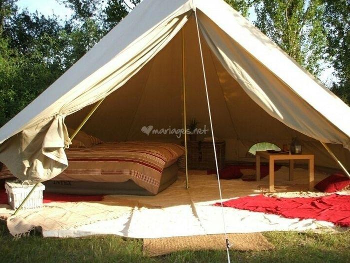 nuit de noces dans une tente lune de miel forum. Black Bedroom Furniture Sets. Home Design Ideas