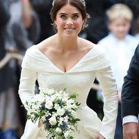 Look nuptial de la Princesse Eugenie d'york - 1
