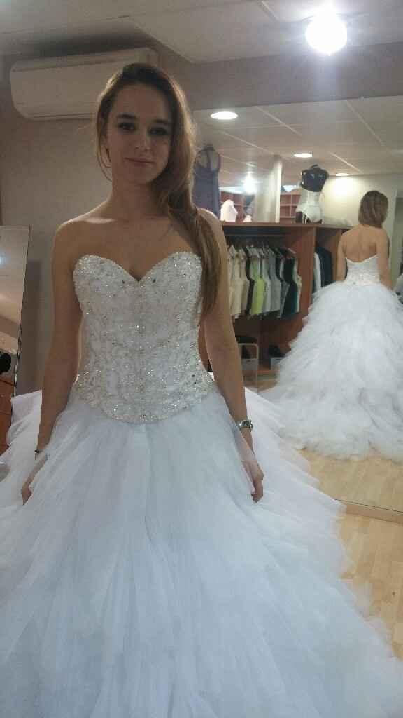 Selection de robe de princesse en tulle et bustier coeur - 1