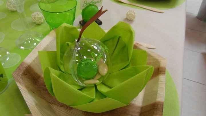 Serviettes de table - pliage nénuphar