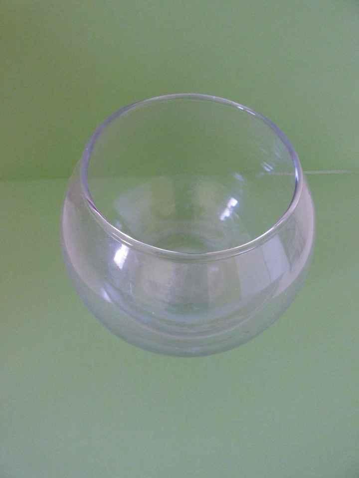 Centres de table - Boule en verre