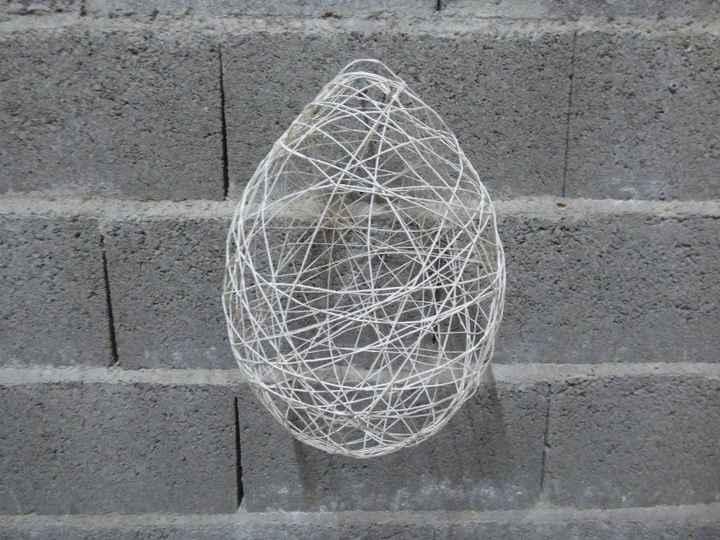 Suspensions au plafond - Sphères en ficelle