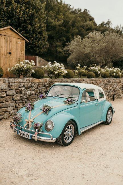 Laquelle de ces deux voitures pour ton mariage ? 2