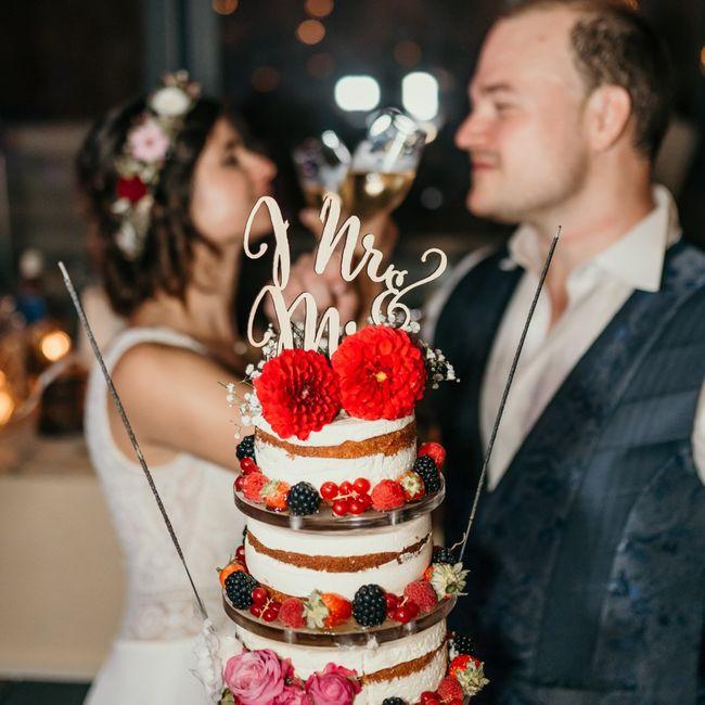 Auquel de ces deux wedding cake ressemble au vôtre? 1
