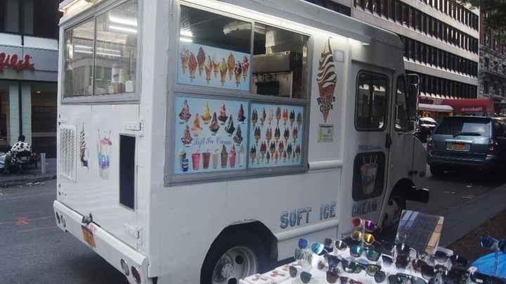 Les camions de glace ! =)