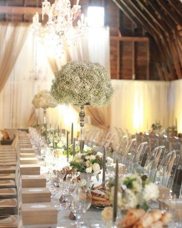 mariage vert, gris et blanc - Photo Décoration