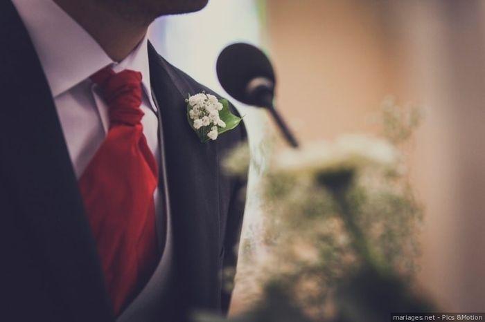 Le marié: Avec ou sans boutonnière ?  🕴️ 1