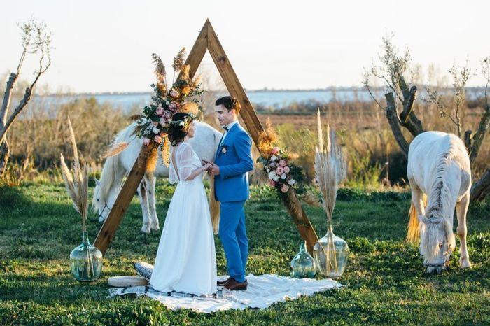 Ta photo de mariage fleurie  📸 2