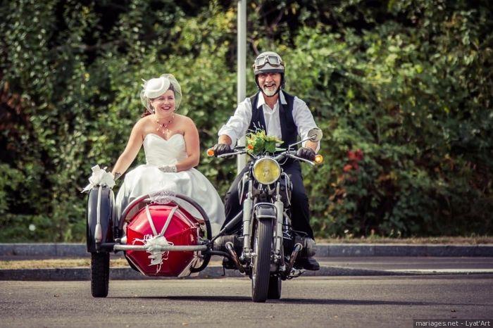 Le transport des mariés : Insolite ou classique ? 1