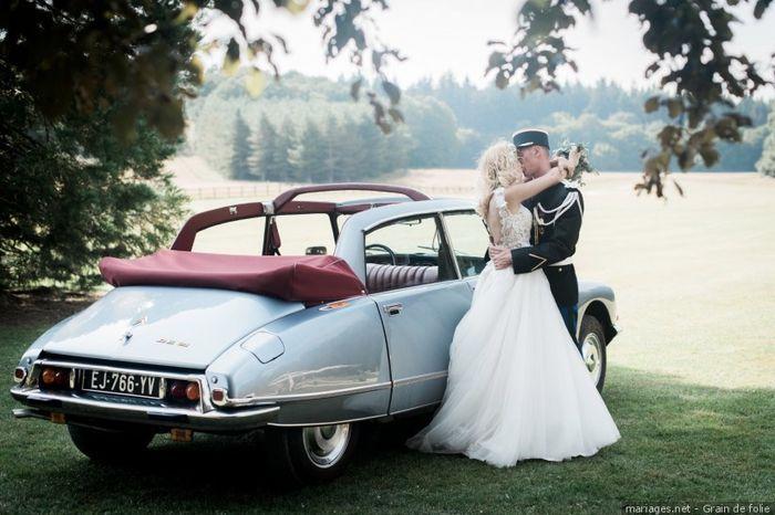 Le transport des mariés : Insolite ou classique ? 2