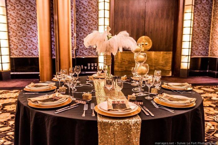 🌷Le centre de table : Thème gourmand VS thème Gatsby 2