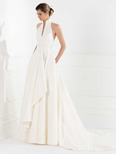 La coupe de ma robe de mariée sera _______ 1