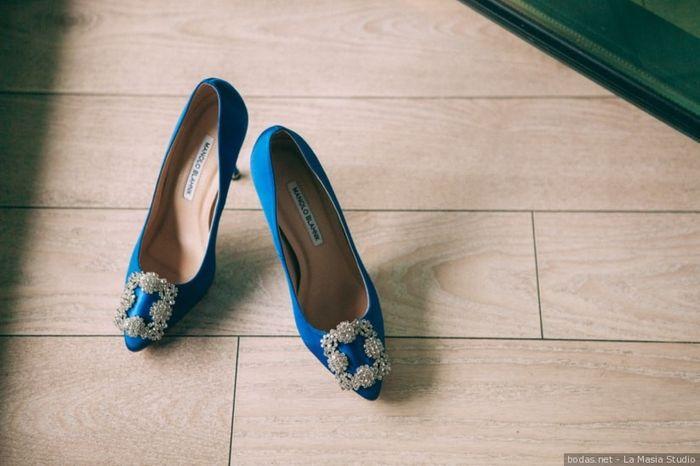 La couleur de mes chaussures sera ____ 1