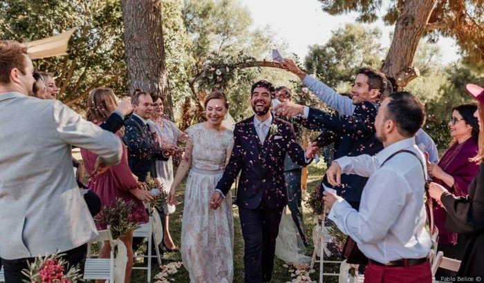 #InstantPhoto : La sortie des mariés  ❤️ 2