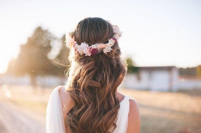 La couronne de fleurs comme accessoire tendance ! 1