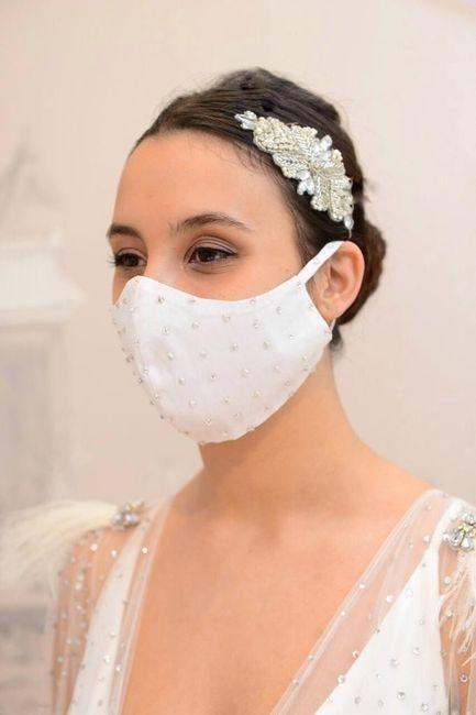 Se marier avec un masque : Pour ou contre ? 1