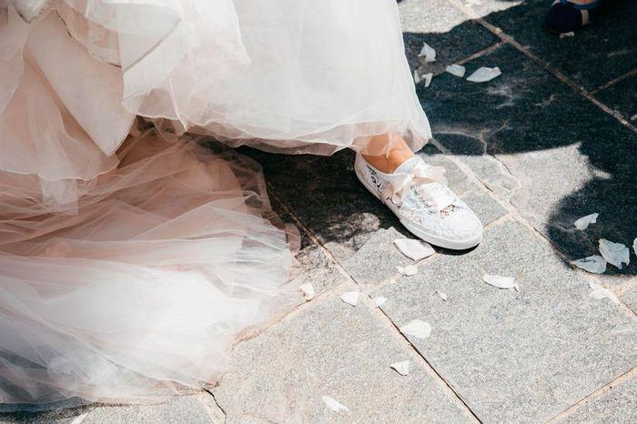 La mariée en basket ! 👟 2