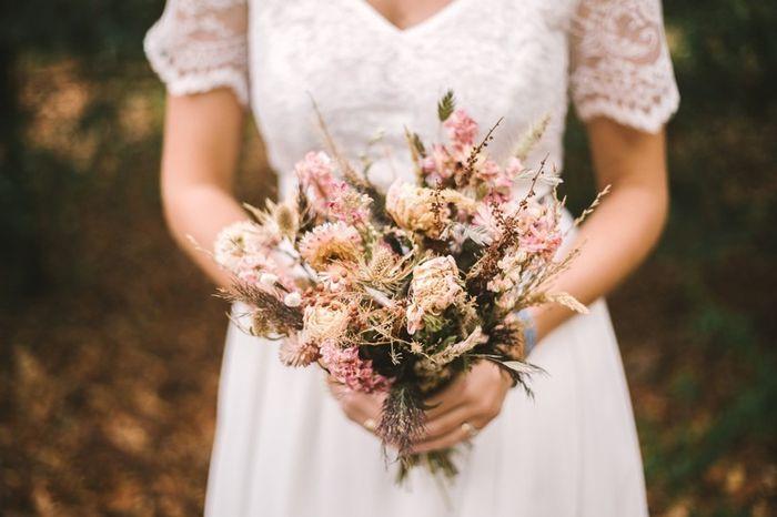 Le bouquet de fleurs séchées 💐 2