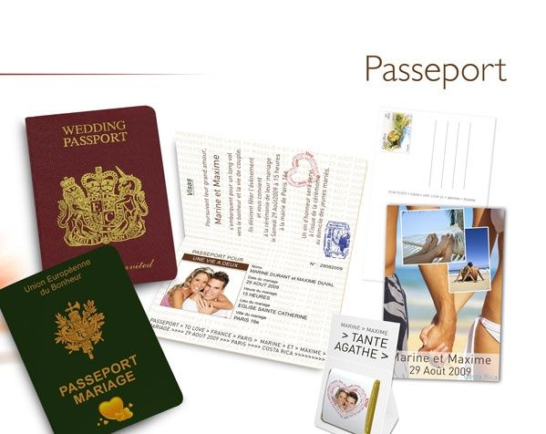 faire part passeport page 2 organisation du mariage forum. Black Bedroom Furniture Sets. Home Design Ideas