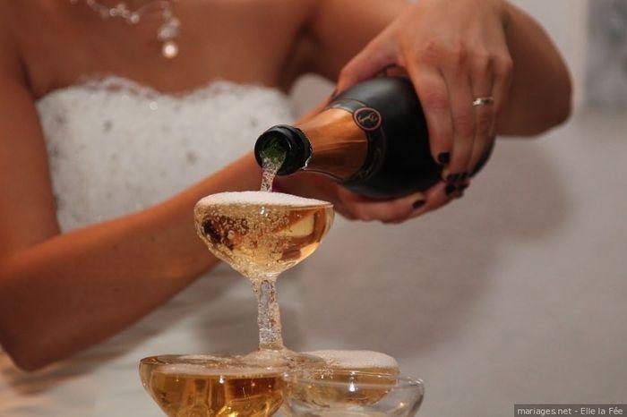 Le champagne coulera t-il à flot à ton mariage ? 1