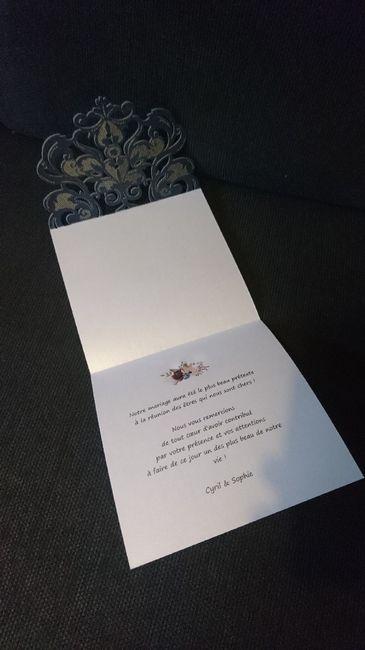 Carte de remerciement 2