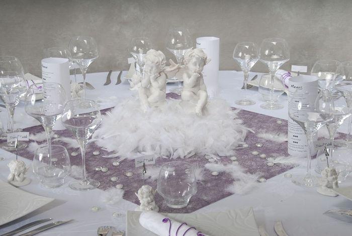 Decoration Table Bapteme Ange