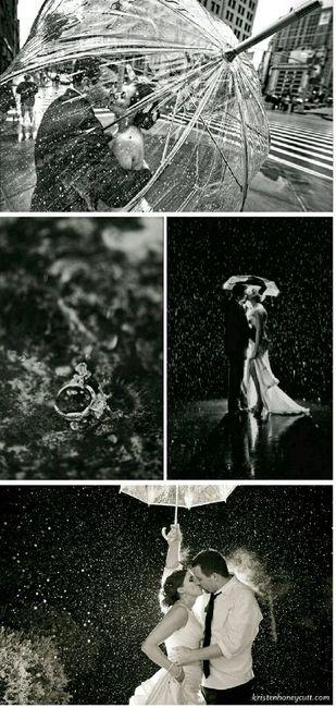 Au secours! où faire des photos de couple en cas de pluie pour notre mariage? - 1