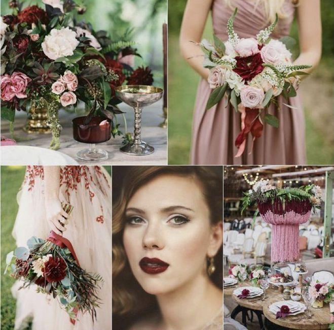 ⭐️ Mariage en couleur [ Lie de Vin / Olive ] ⭐️ 1