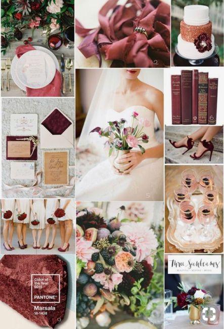 ⭐️ Mariage en couleur [ Lie de Vin / Olive ] ⭐️ 13