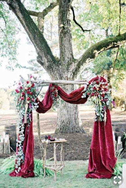 ⭐️ Mariage en couleur [ Lie de Vin / Olive ] ⭐️ 16