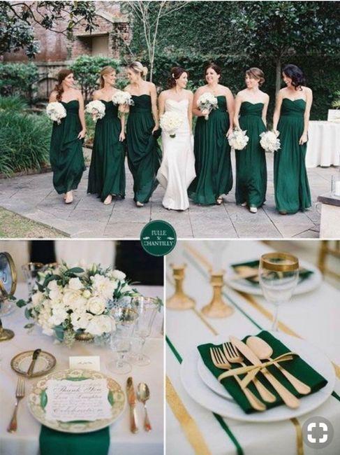 ⭐️ Mariage en couleur [ émeraude / Gold ] ⭐️ 10