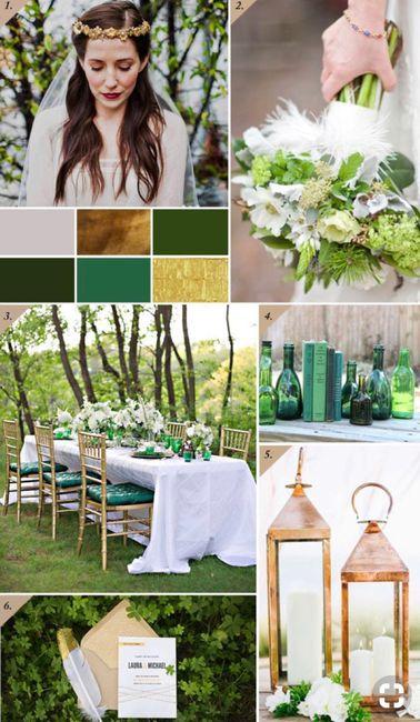 ⭐️ Mariage en couleur [ émeraude / Gold ] ⭐️ 16