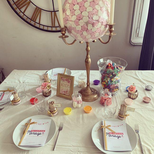✨La table des enfants✨ 1