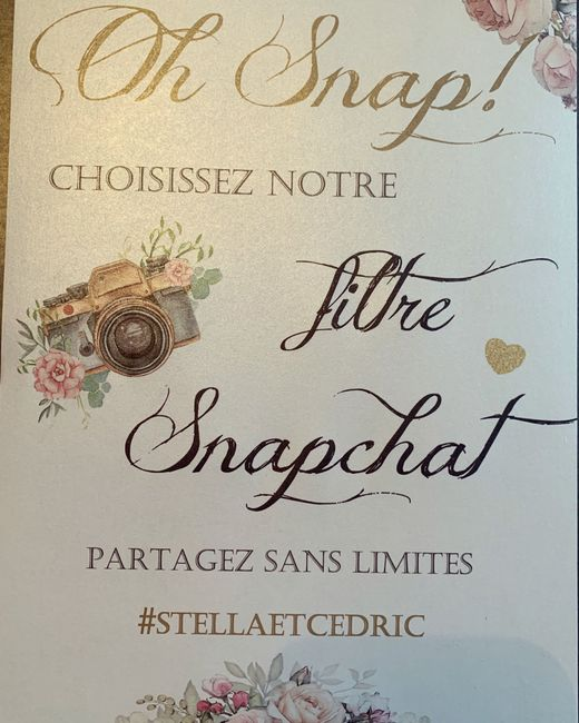 ✨ Filtre Snapchat ✨ 1