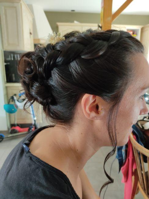 Deuxième essai coiffure 3