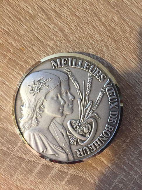 Médaille de mariage - 1