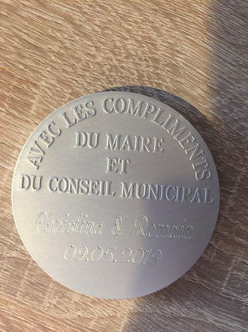 Médaille de mariage - 2