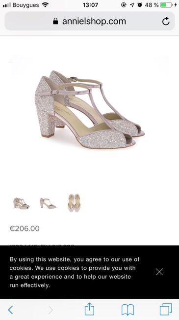 sale retailer 33d71 c8e2f Suite chaussure Anniel - Mode nuptiale - Forum Mariages.net