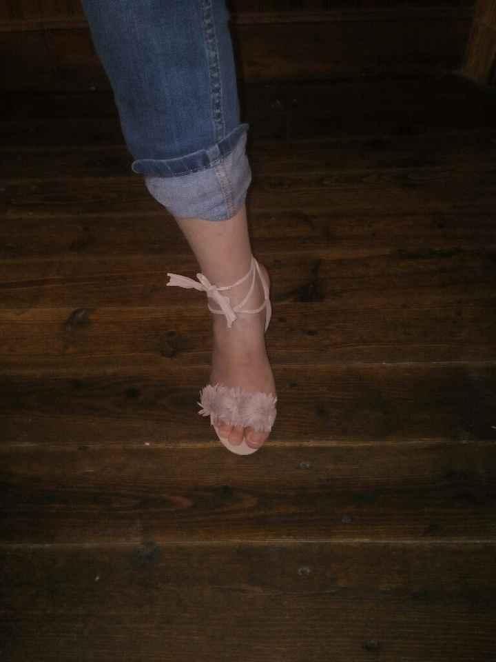 J'ai reçu mes chaussures ! - 2