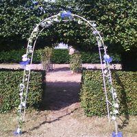Notre arche en tulles et fausses fleurs