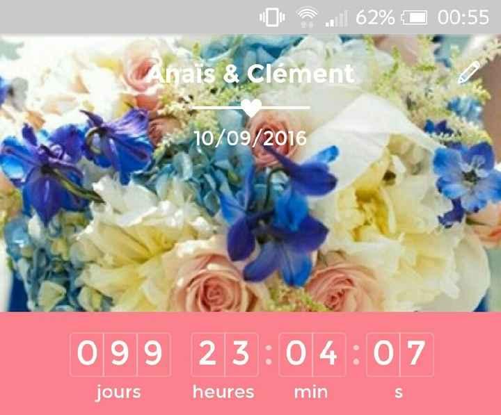 Mariées du 10 septembre : compteur à deux chiffres!!!! - 1
