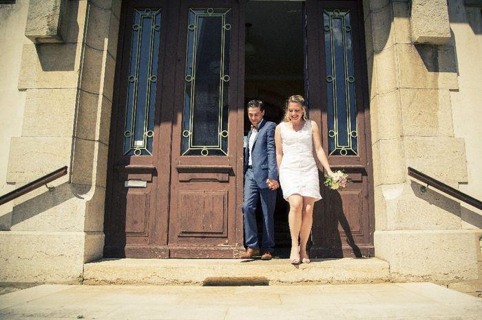 Premier mariage 😁 8