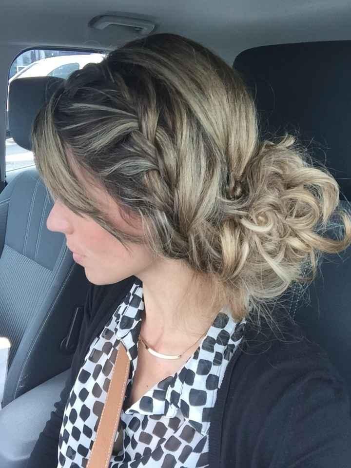 Premier essai coiffure, convaincue!! - 1