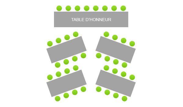 disposition des tables organisation du mariage forum. Black Bedroom Furniture Sets. Home Design Ideas