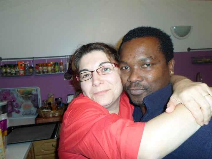 Eddy et Nathalie à la cuisine